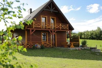 Dom całoroczny nad jeziorem Gaładuś