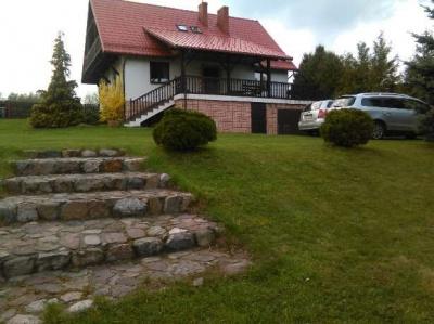 Dom na Mazurach - Wygryny - Szlak Wielkich Jezior