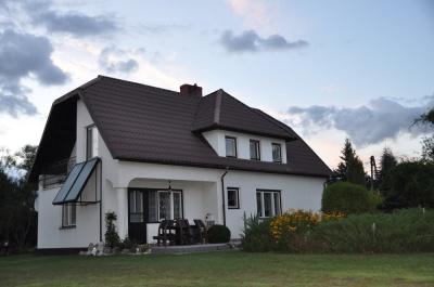 Dom nad Czarną Hańczą