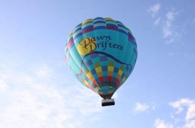 Ballooning - loty balonowe, lot balonem nad Mazurami