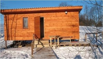 Sauna Lipowa Nowy Skazdub okolice Suwałk