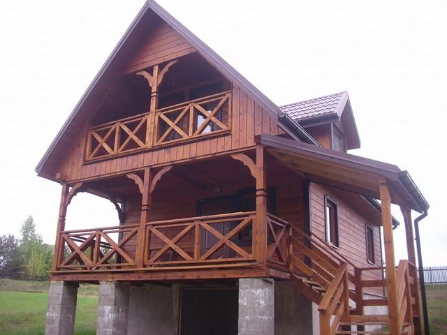 Dom letniskowy nad jeziorem Tobołowo