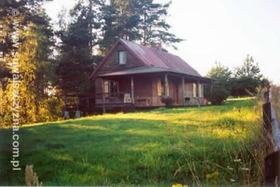 Dom nad jeziorem Rospuda